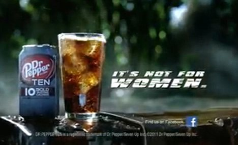 "The new ""It's Not For Women"" soda for real men is just not funny."