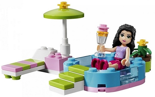 "Lego is giving Its new girl products ""Full Throttle,"" whatever that means."