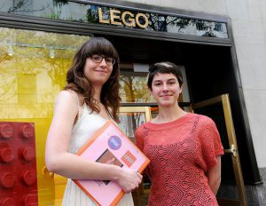 Stephanie and Bailey were the creators of the LEGO petition that has received more than 55,000 signatures to date..