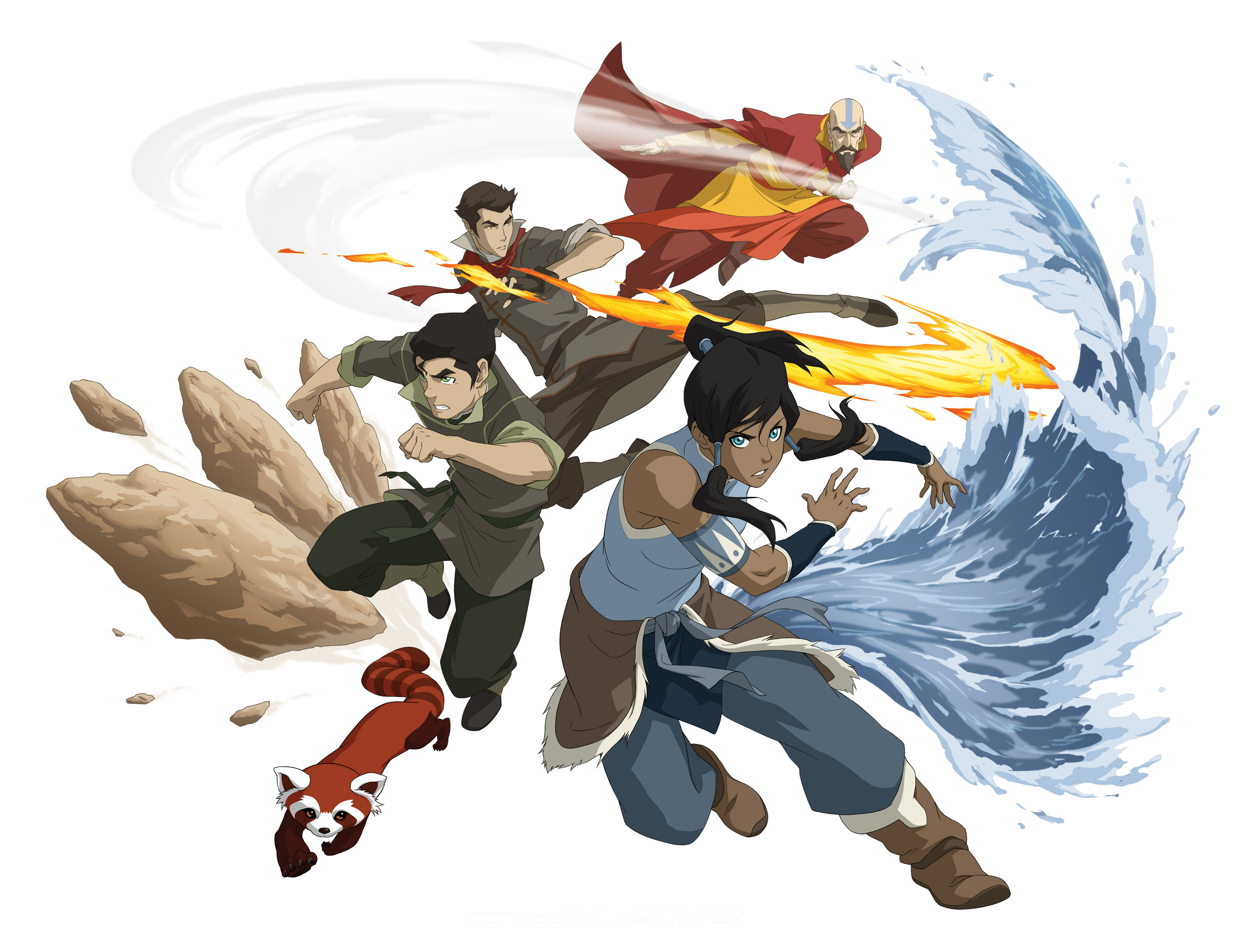 Complex female characters in kids tv avatar korra spark movement political corruption and manipulation voltagebd Image collections
