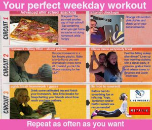 Teen Workout Plan 6
